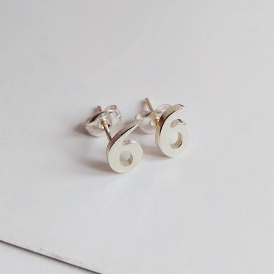 Number Stud Earring,Personalized Earring,Letter Stud Earring,Star Stud Earrings,Heart Studs Earring,Initial Stud Earrings,%100 Handmade