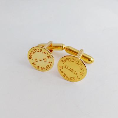 Personalized Wedding Cufflinks,Coordinate Date Initials Cufflinks,Groom Wedding Cufflinks,Engraved CuffLinks,Elegant Monogrammed Cufflinks