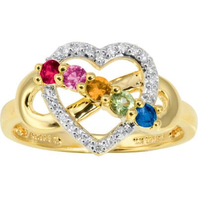 Personalized Keepsake Infinite Love Ring