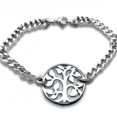 Tree Personalised Bracelet