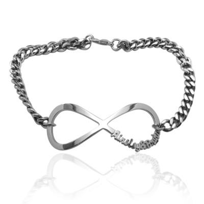 Infinity Name Personalised Bracelet