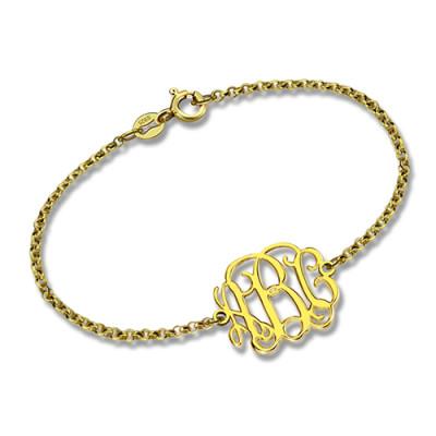 Monogram Personalised Bracelet