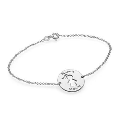 Cut Out Mum Personalised Bracelet