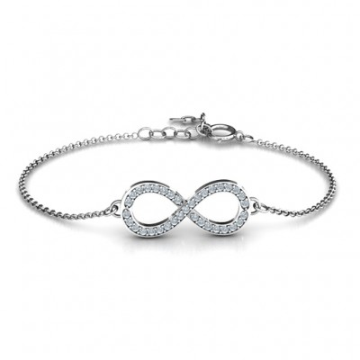 Infinity Bracelet - Accented