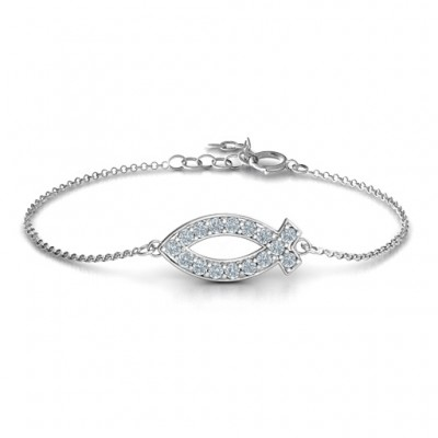 Classic Fish Personalised Bracelet