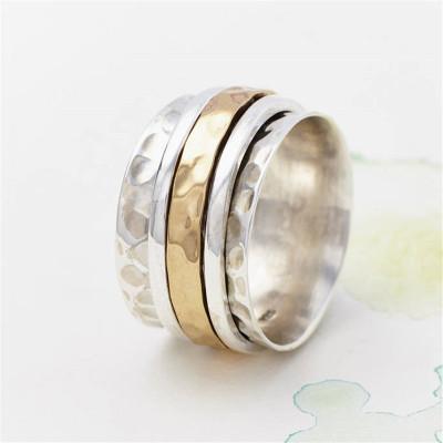 Karma Bronze AndSpinning Ring