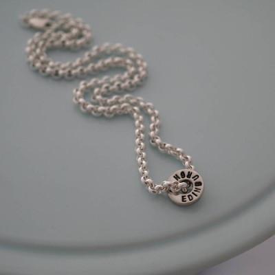 Personalised Necklaces - ChunkyWasher Necklace