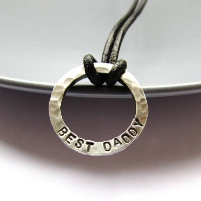Personalised Necklaces - Mini Dad Necklace